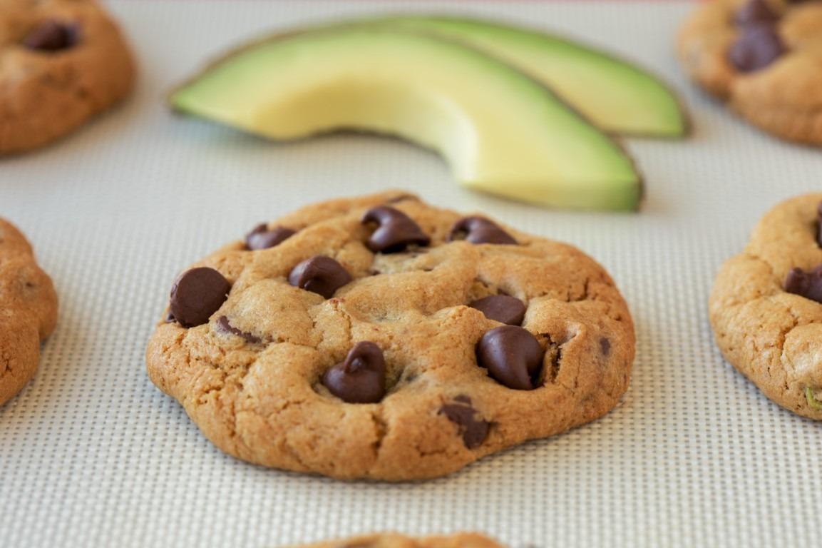 Avocado Chocolate Chip Cookie Recipe
