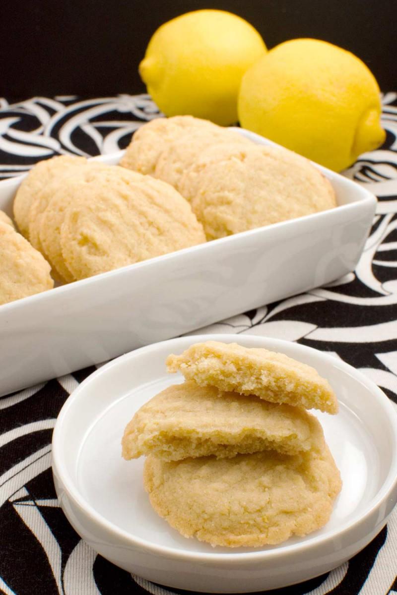 Chewy Lemon Cookies Recipe