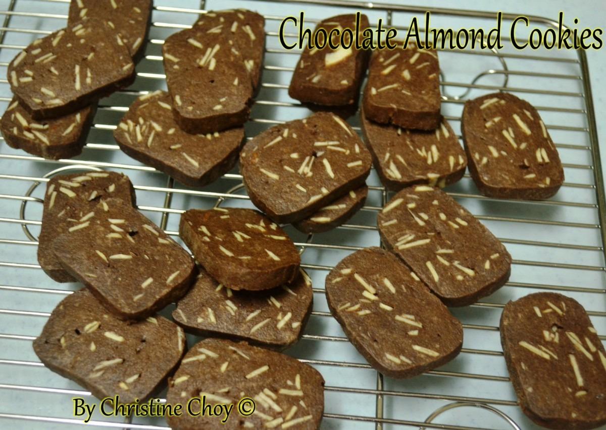 Food@home Sweet Home  Chocolate Almond Cookies