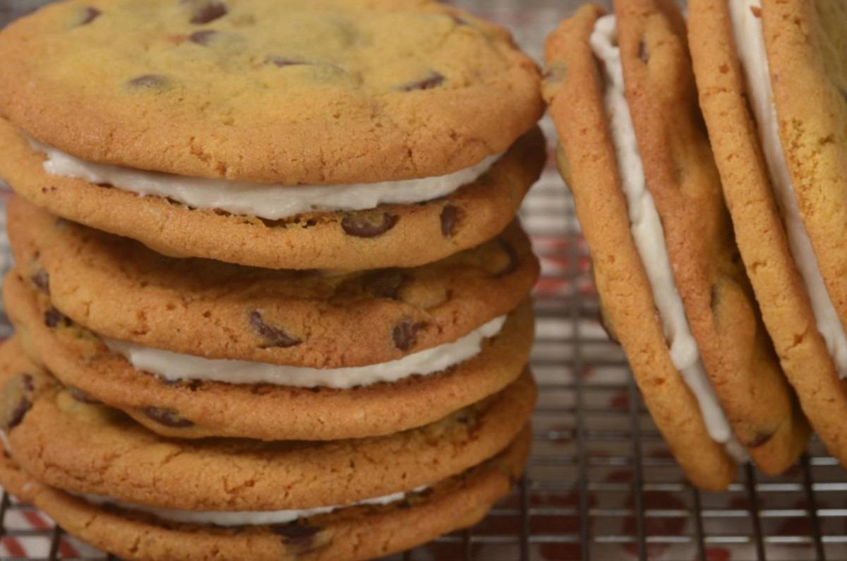 Chocolate Chip Sandwich Cookies