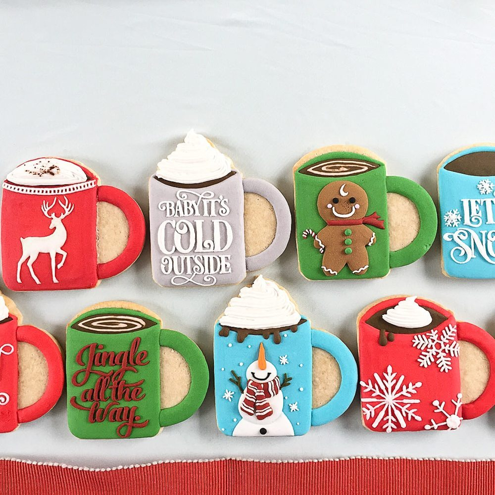 Christmas Mug Sugar Cookies Too Adorable To Eat