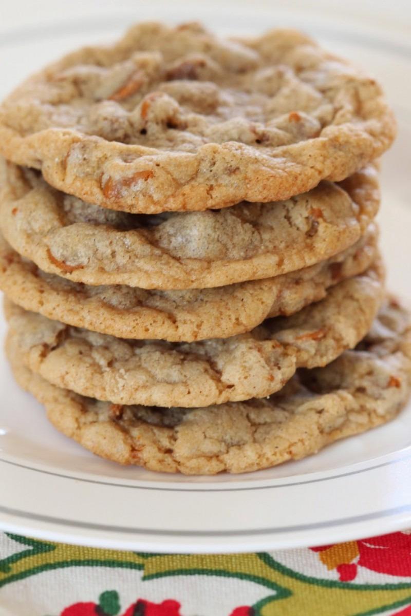 Tortillas And Honey  Cinnamon Chip Cookies