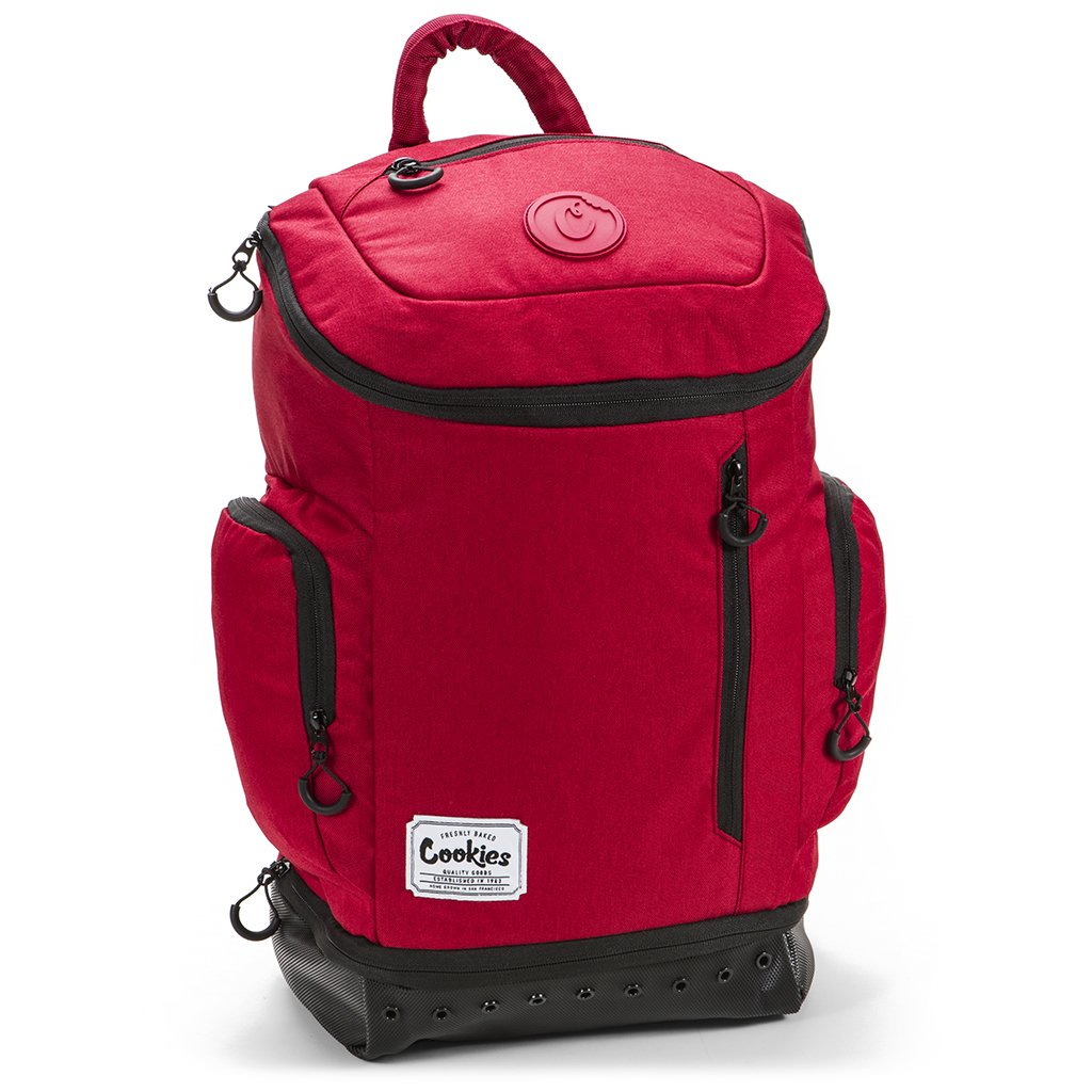 Cookies Sf Berner Unisex Smell Proof Nylon Techy Backpack Bag Red