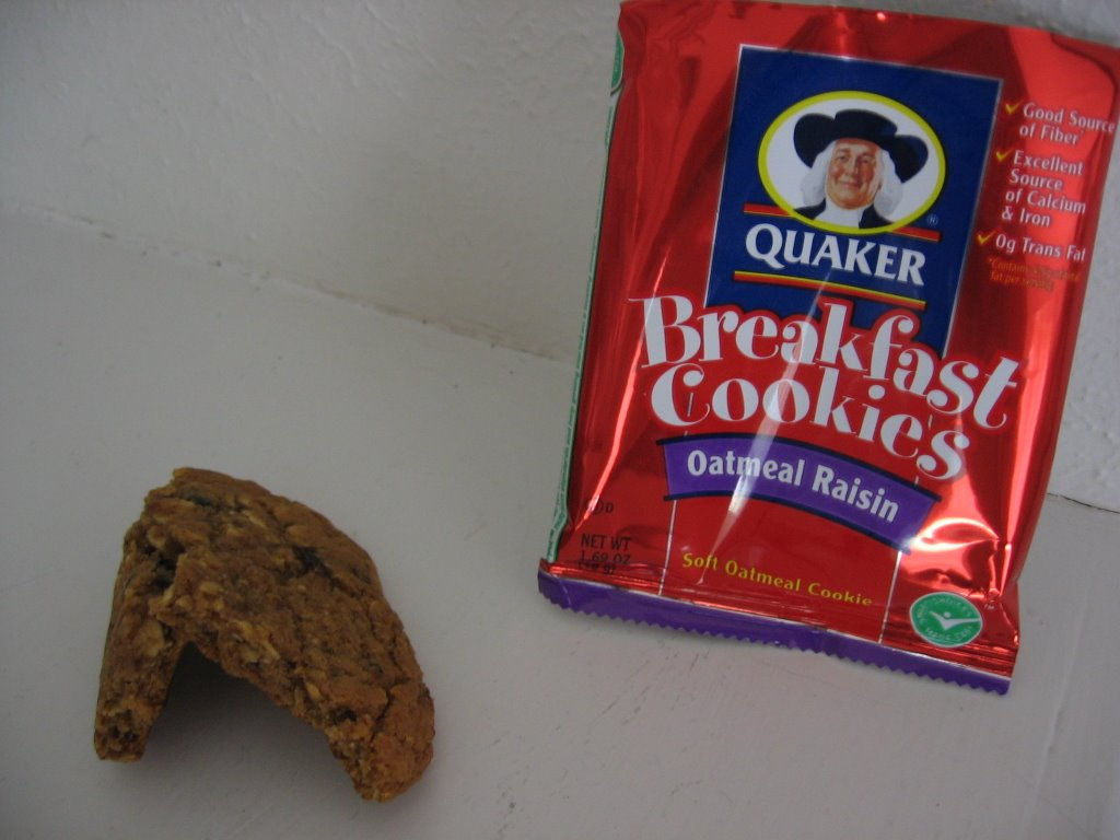 News You Can Eat  Quaker Breakfast Cookies