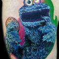 Cookie Monster Tattoo
