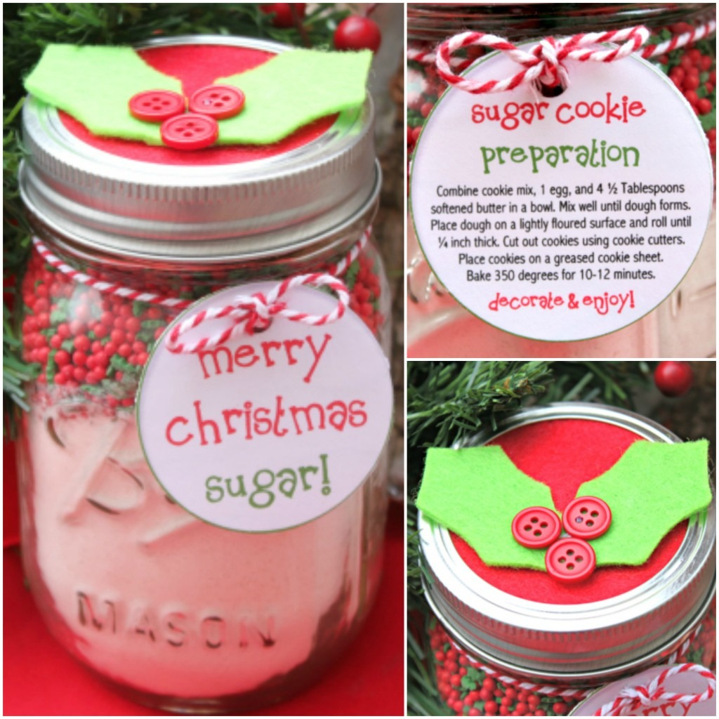 Cookie Mix In A Mason Jar Christmas Gift