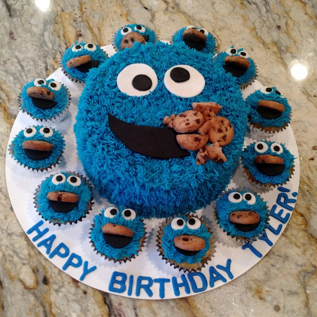Cookie Monster Birthday!