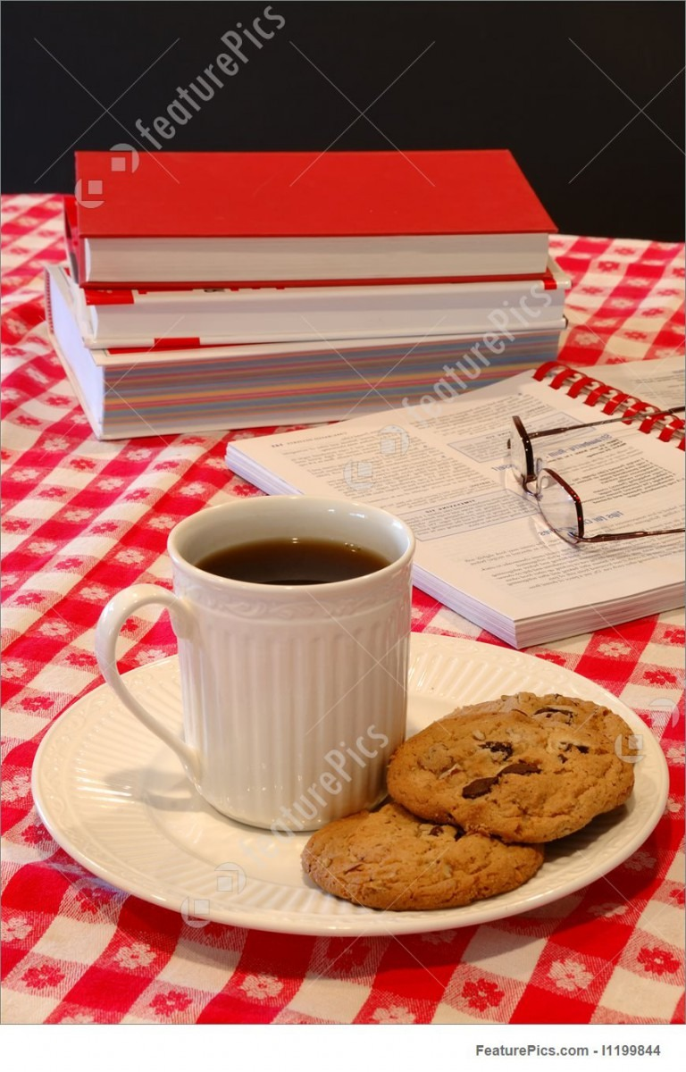 Cookies And Coffee Break Stock Photo I1199844 At Featurepics