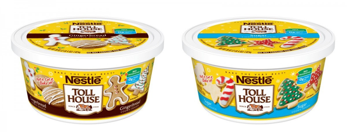 Spend Freely  Walmart  Free Nestle Gingerbread Cookie Dough