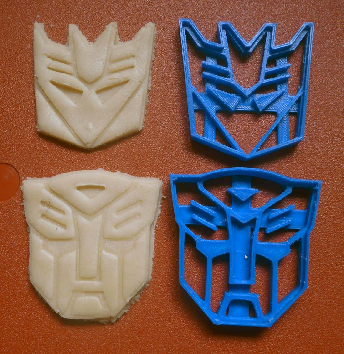 Cortante Transformer Cookie Cutter