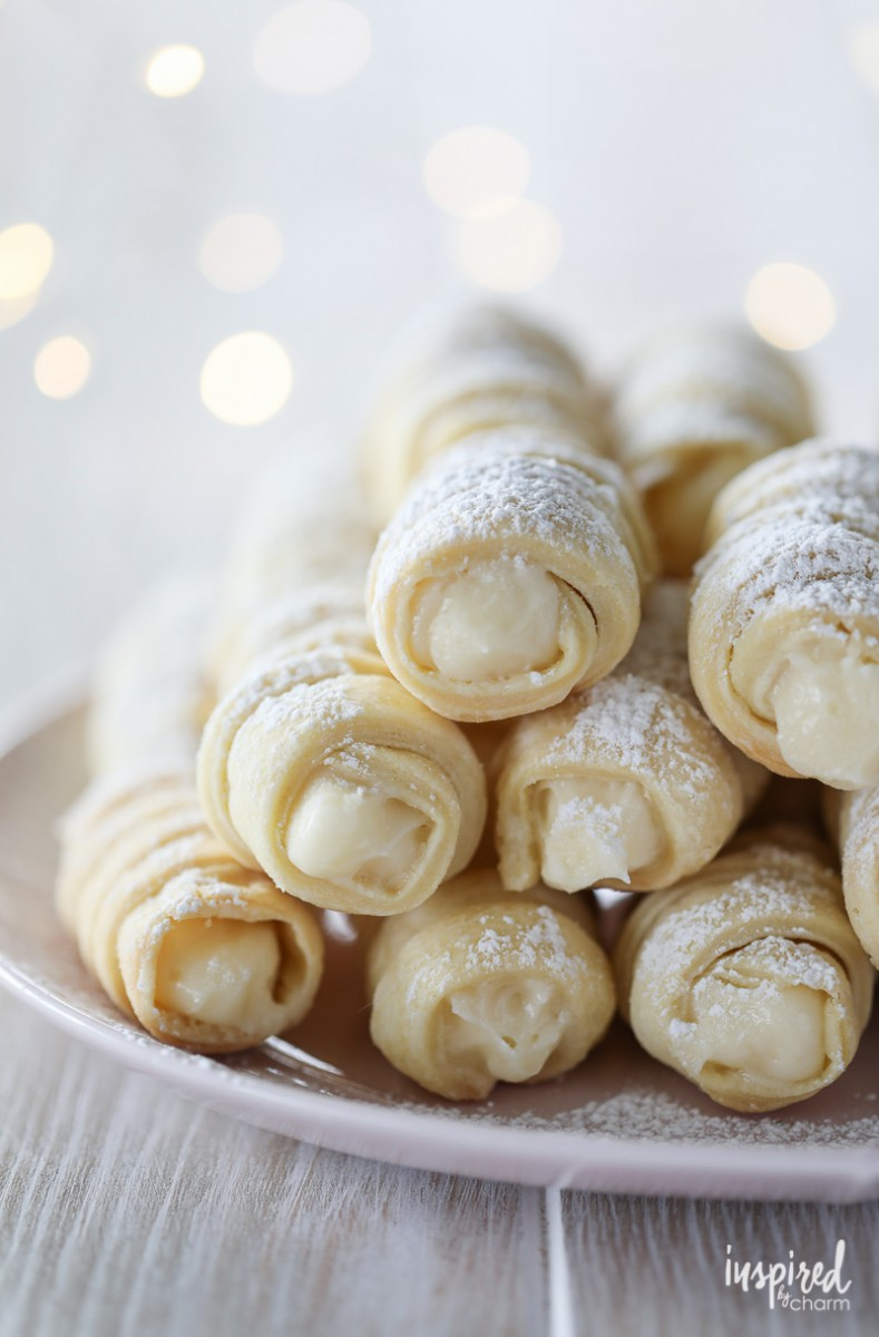 Learn How To Make These Cream Horn Cookies (lady Locks)