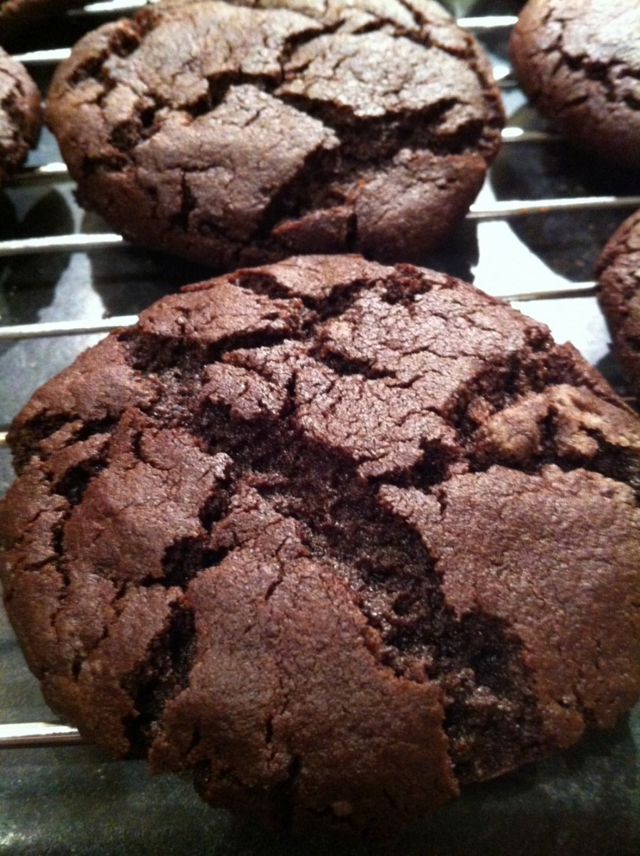 Sexy Spicy Chocolate Cookies