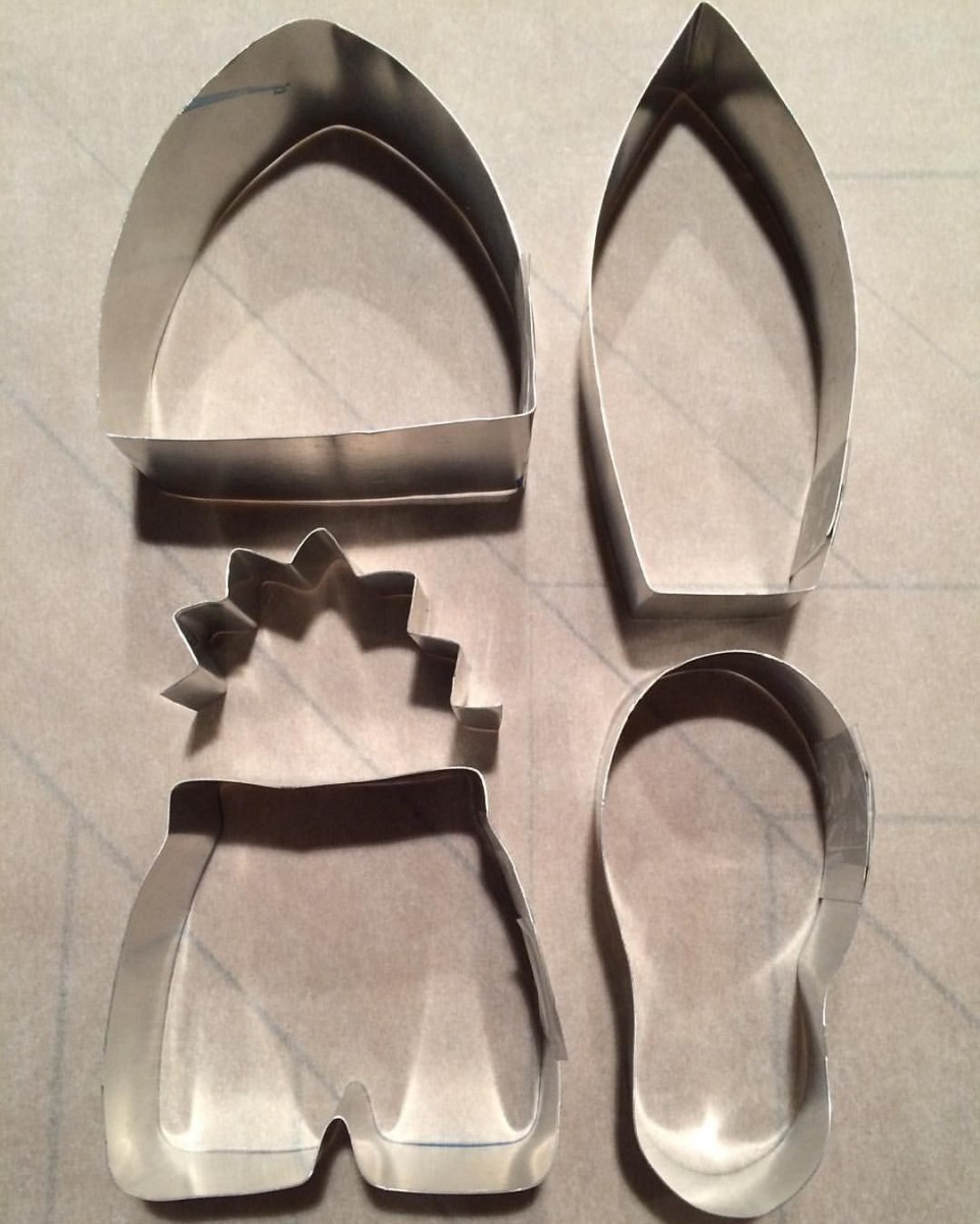 I'm So Excited With My Homemade Cookie Cutters For Shark Week