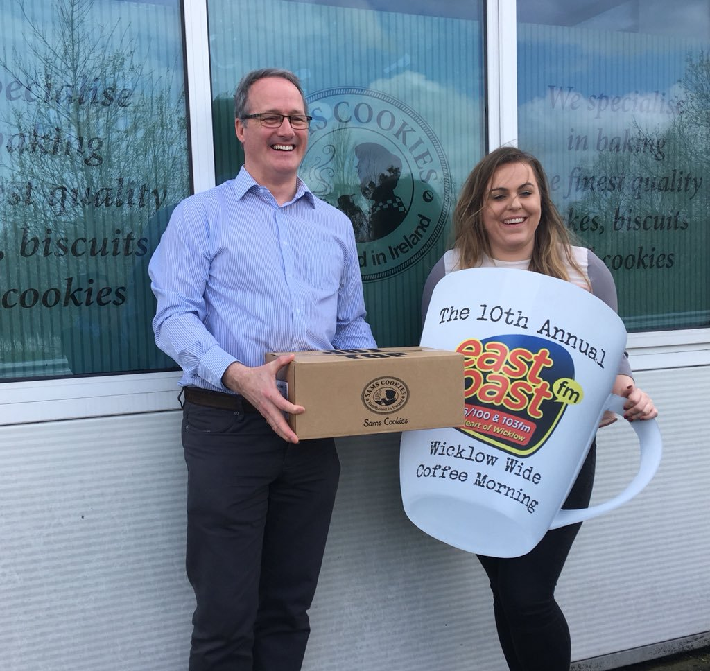 Sam's Cookies On Twitter   Great To Back A Worthy Cause! Wicklow