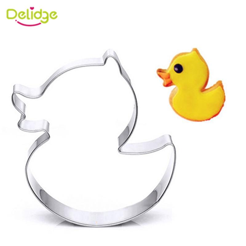 Aliexpress Com   Buy Delidge 1pc Duck Shape Cookie Cutter 3d