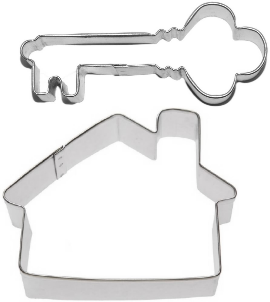 House & Antique Key Realtor Cookie Cutter Set ~ The Cookie Cutter Shop