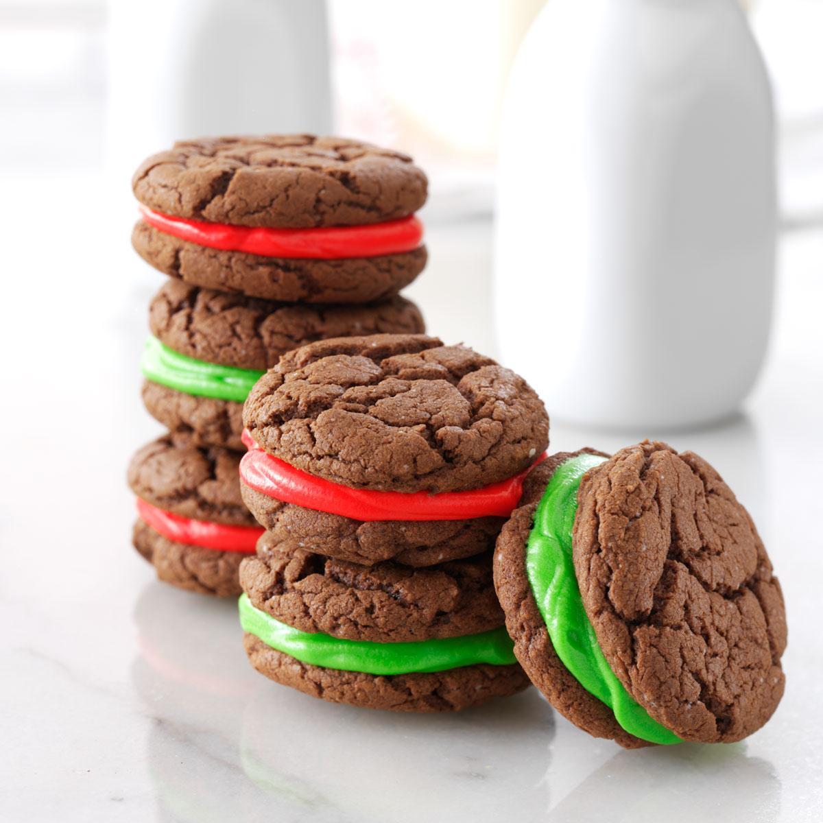 Chocolate Sandwich Cookies Recipe