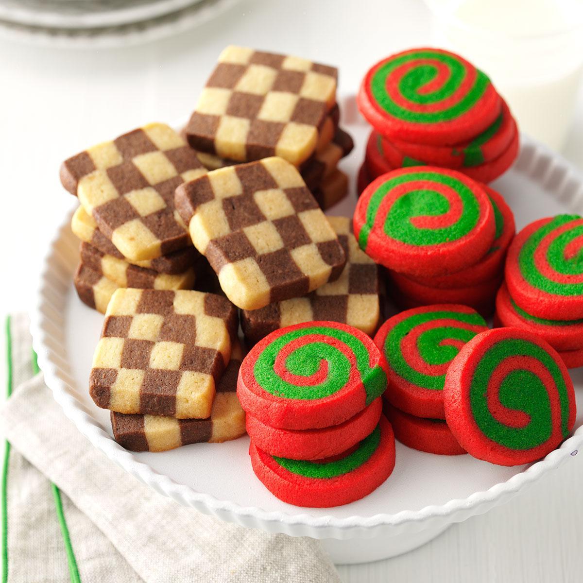 Pinwheels And Checkerboards Recipe