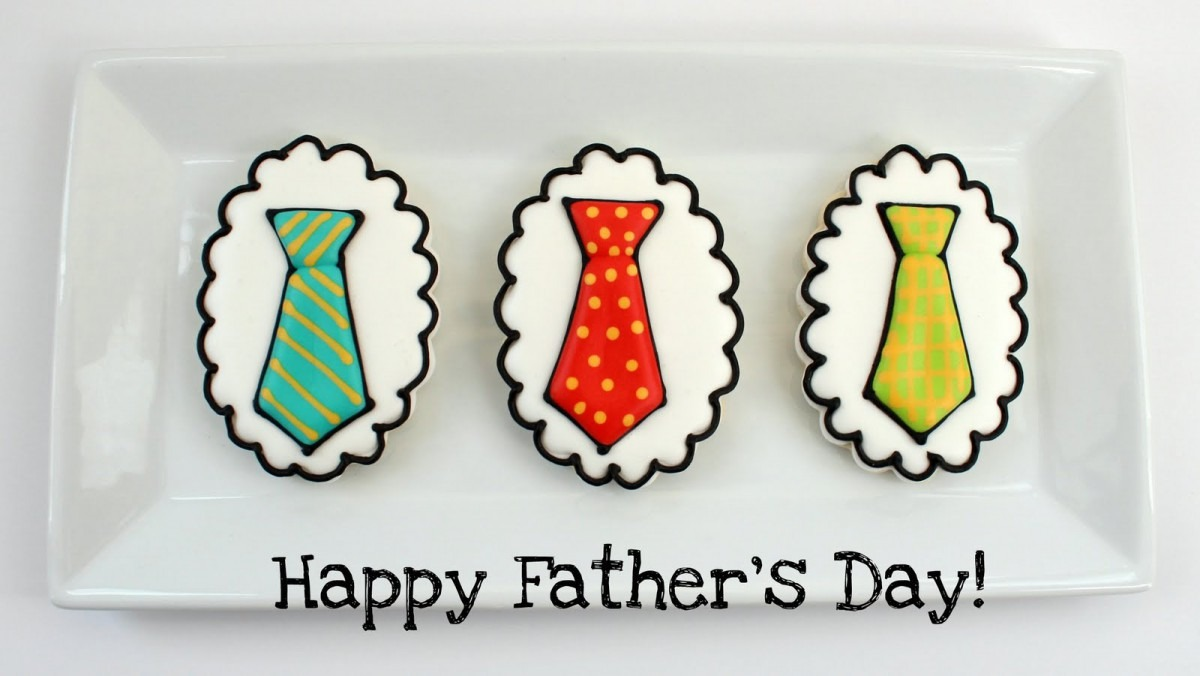 Totally Cute & Yummy Father's Day Cookies From Sugarbelle's Baking