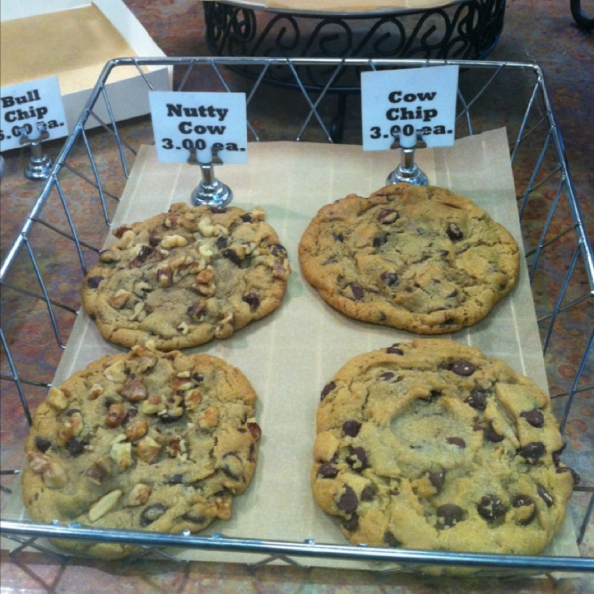 Cow Chip Cookies, Seattle, Washington