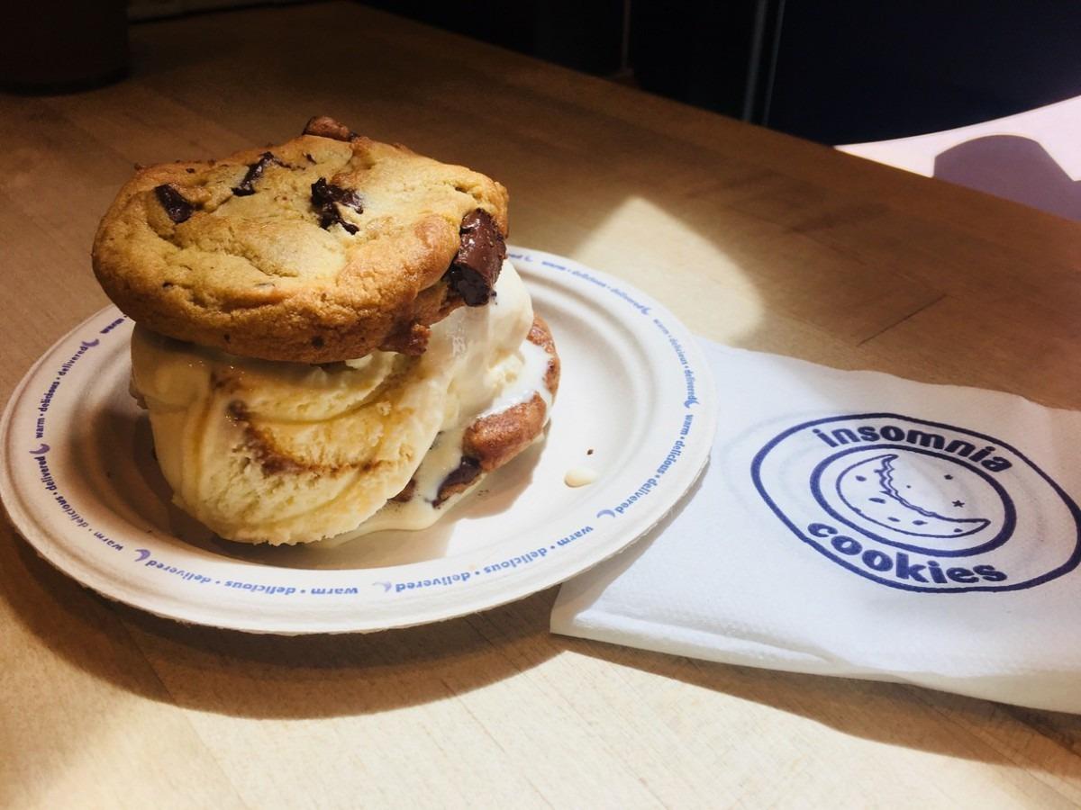Insomnia Cookies, Denton, Texas