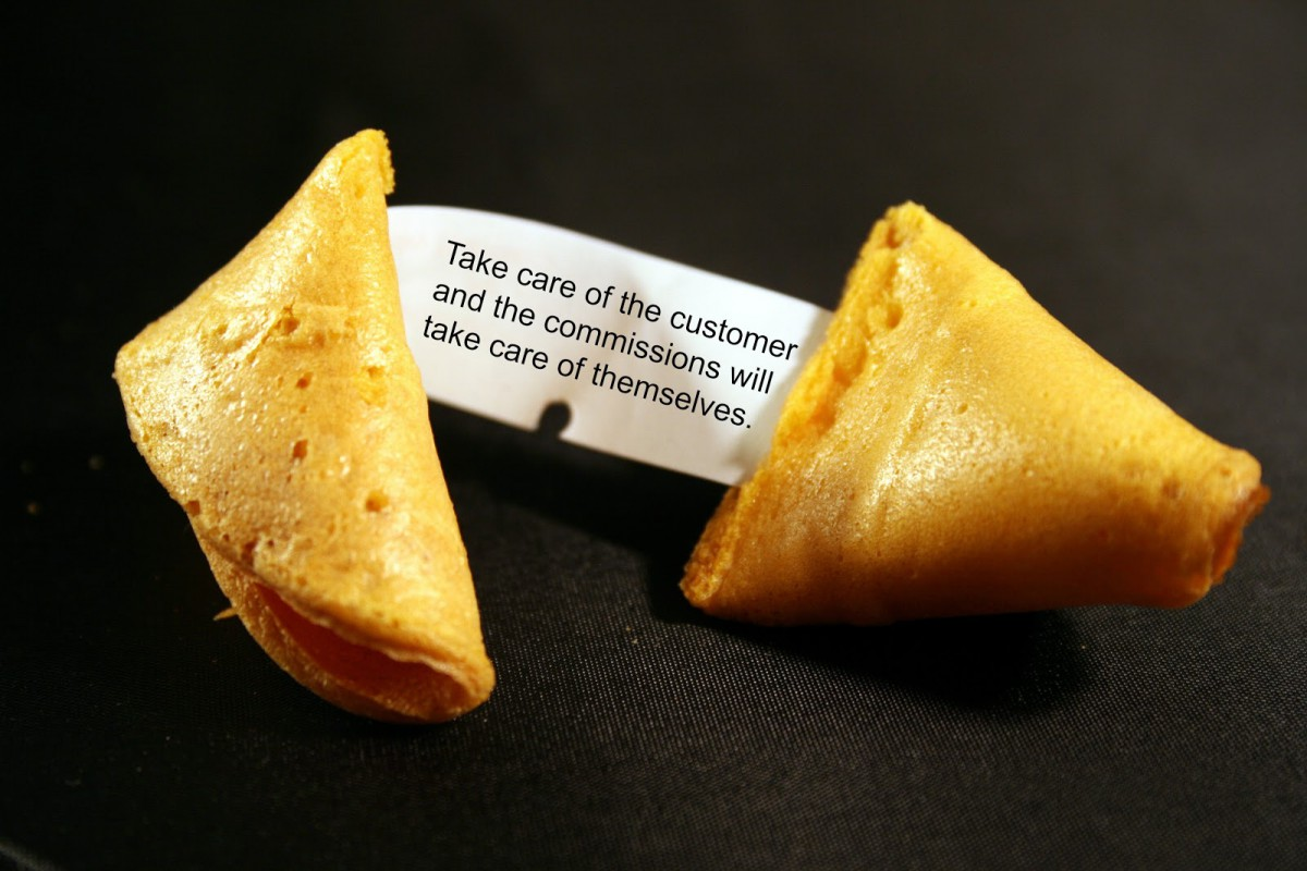 Sales Collaboration  Fortune Cookie Wisdom For Sales On Commission
