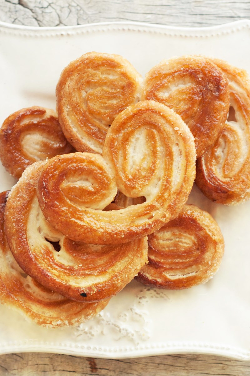 French Palmiers (puff Pastry Cookies)