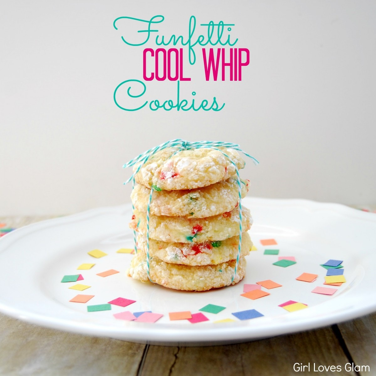 Cool Whip And Cake Mix Cookies