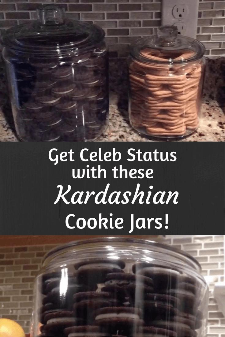 Get Celeb Status With These Kardashian Cookie Jars!
