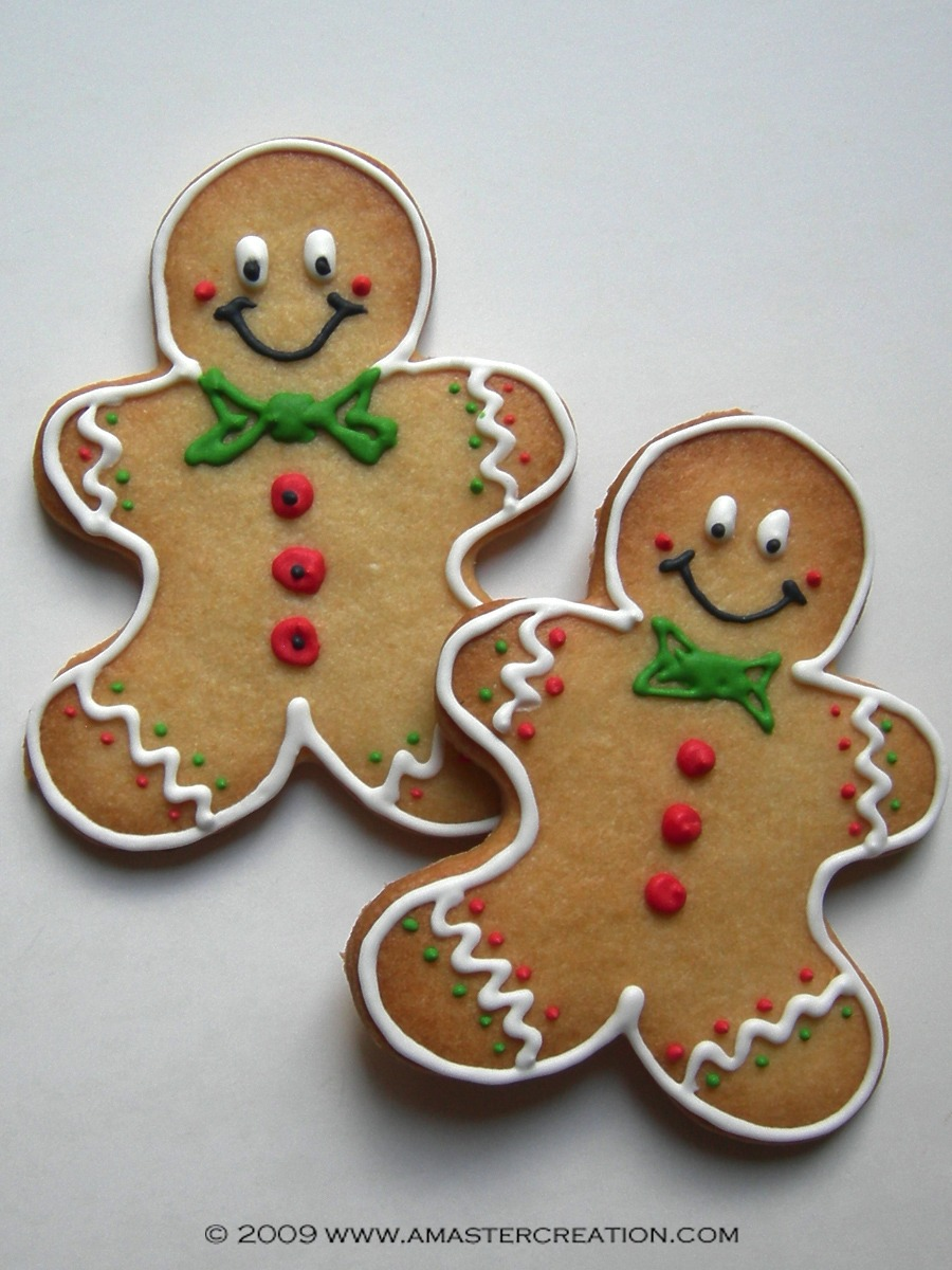Gingerbread Men, Decorating Gingerbread Cookies