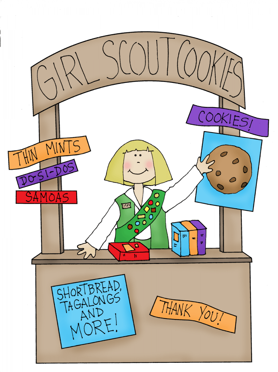 Free Dearie Dolls Digi Stamps  Girl Scout Cookie Booth
