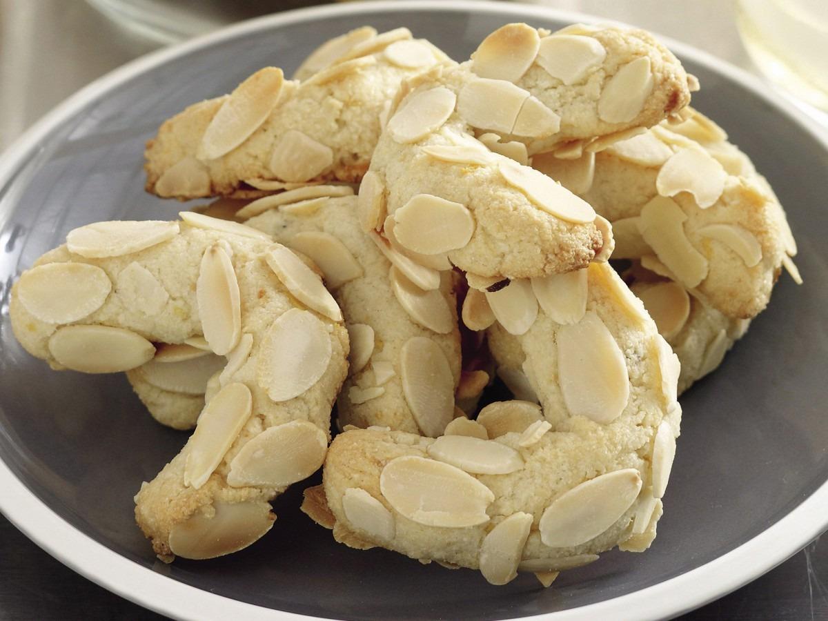 Almond Crescent Recipe Greek