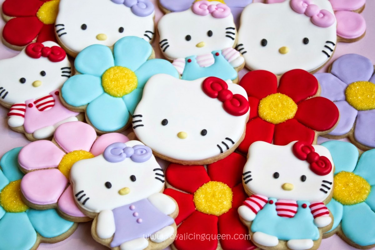 The Royal Icing Queen  Hello Kitty Cookies