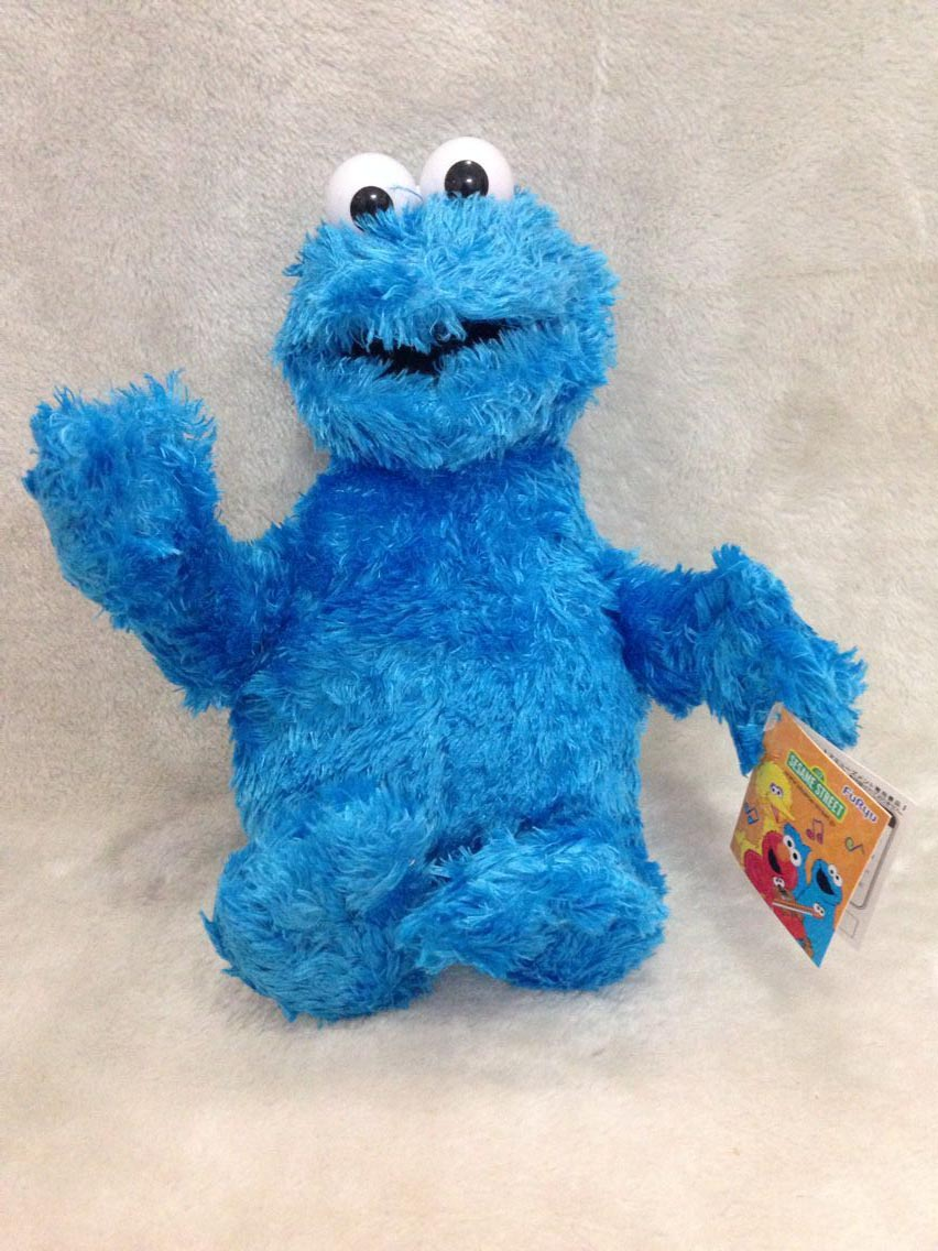 High Quality Sesame Street Soft Plush Puppet Toys Cookie Monster