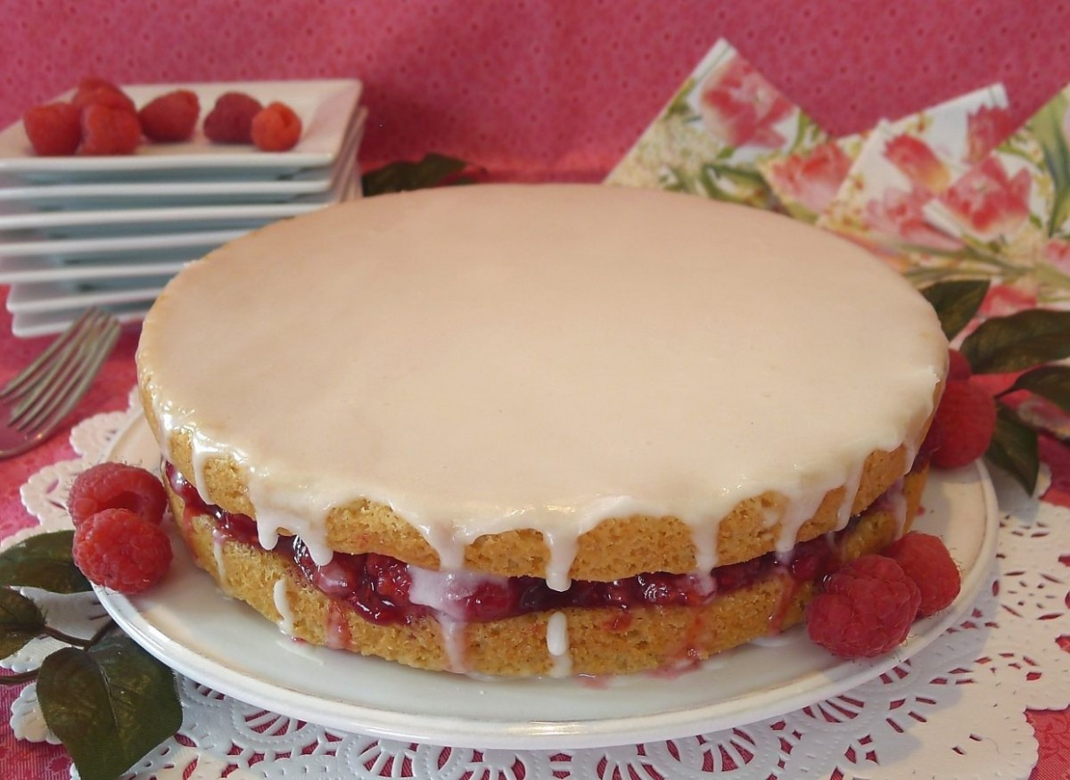 High Altitude Baking  Raspberry