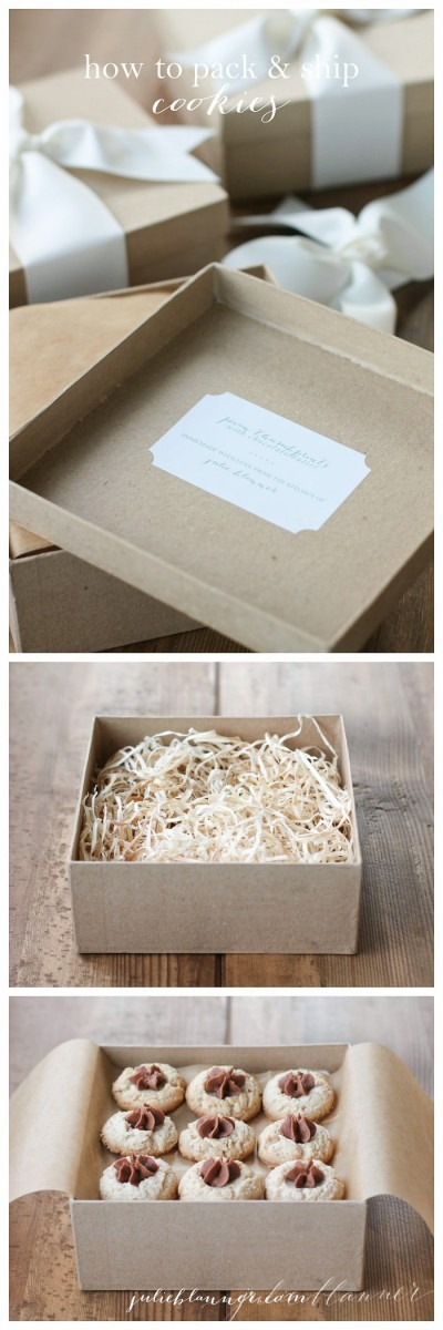How To Pack And Ship Cookies Beautifully & Safely