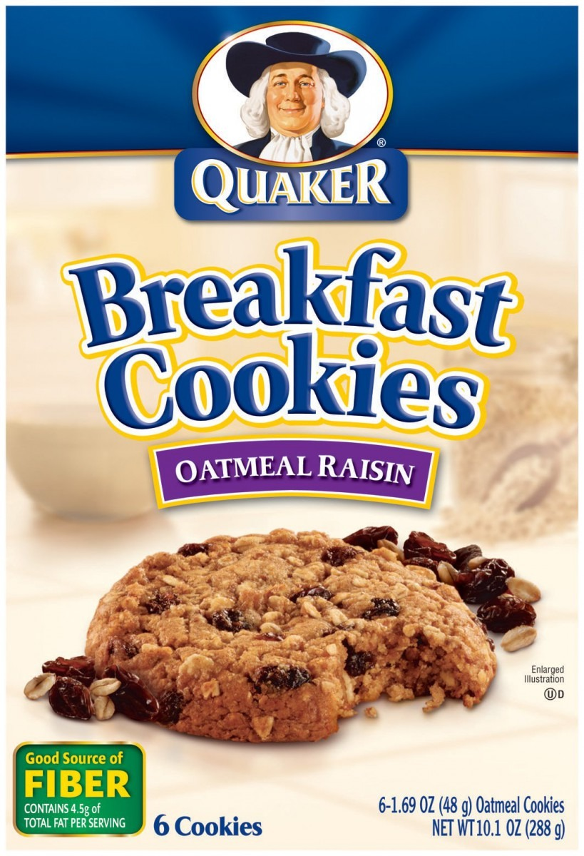 Buy Quaker Chewy Breakfast Cookies Oatmeal Chocolate Chip, 10 1