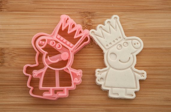 Princess Peppa Pig  Cookie Cutters  Cookies  Peppa Pig