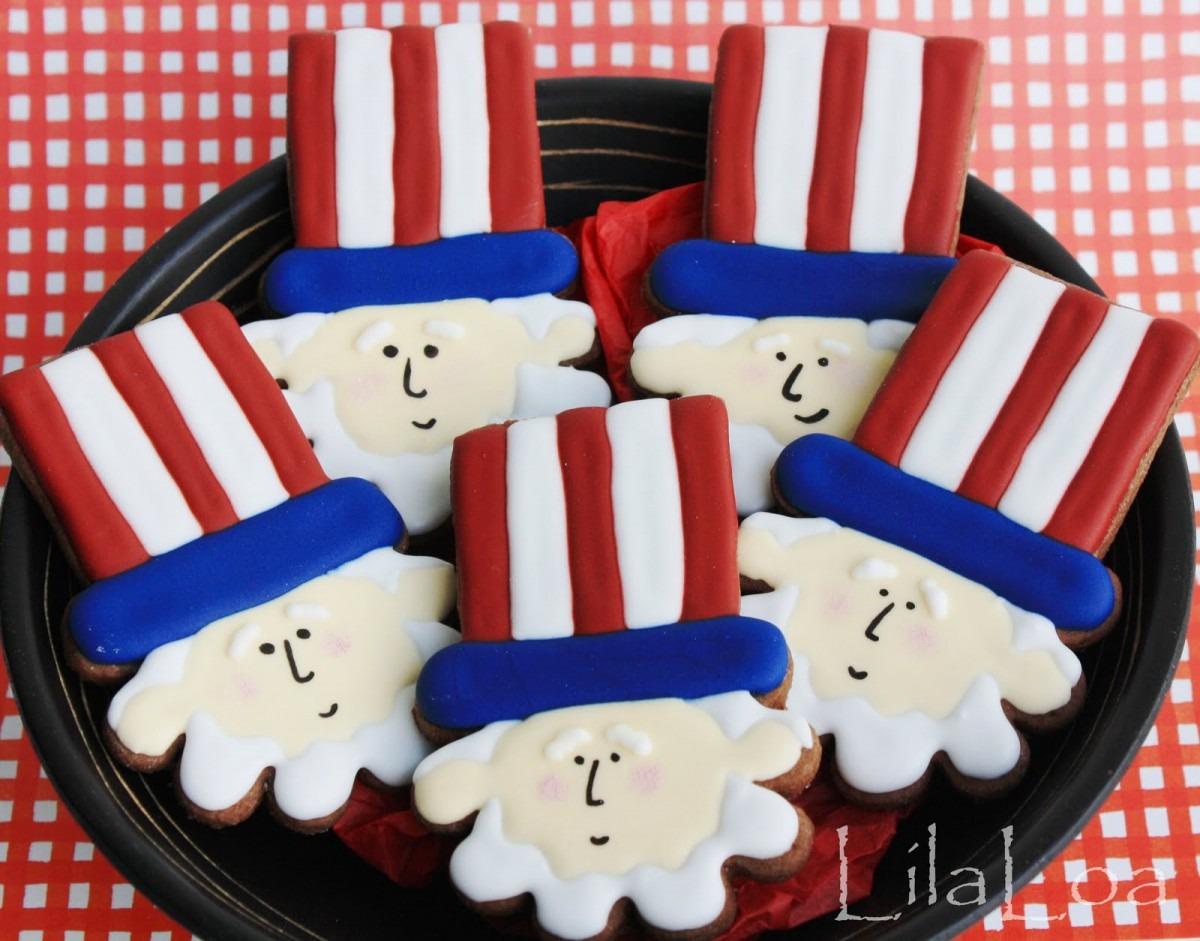 Uncle Sam Cookies