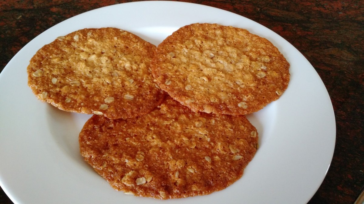 Cafe Mom Cooks  Oatmeal Coconut Butter Cookies