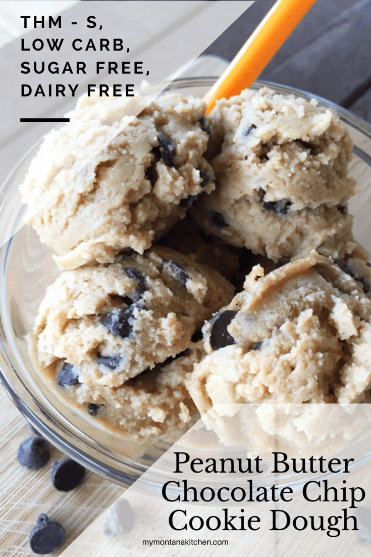 Peanut Butter Chocolate Chip Cookie Dough {thm