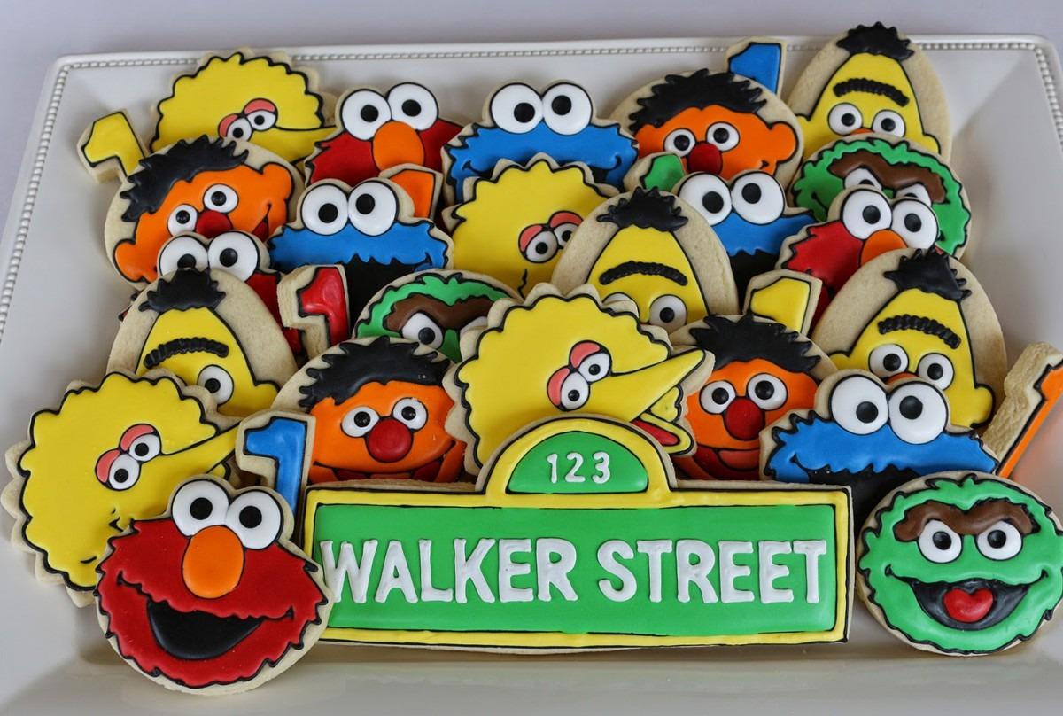 Jaclyn's Cookies  Sesame Street Cookies