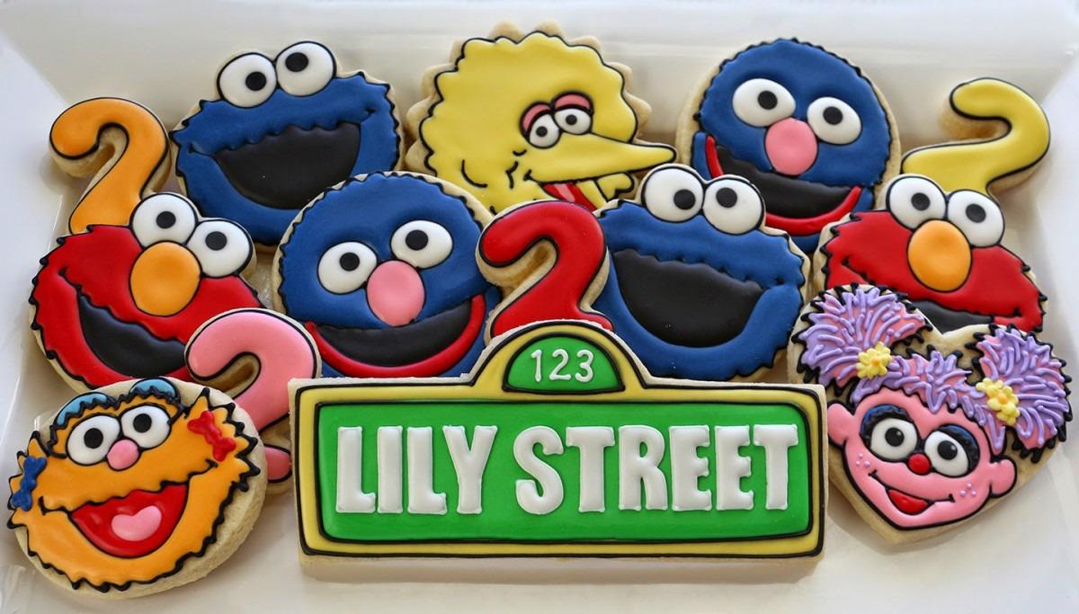 Jaclyn's Cookies  Sesame Street Cookies Part 2