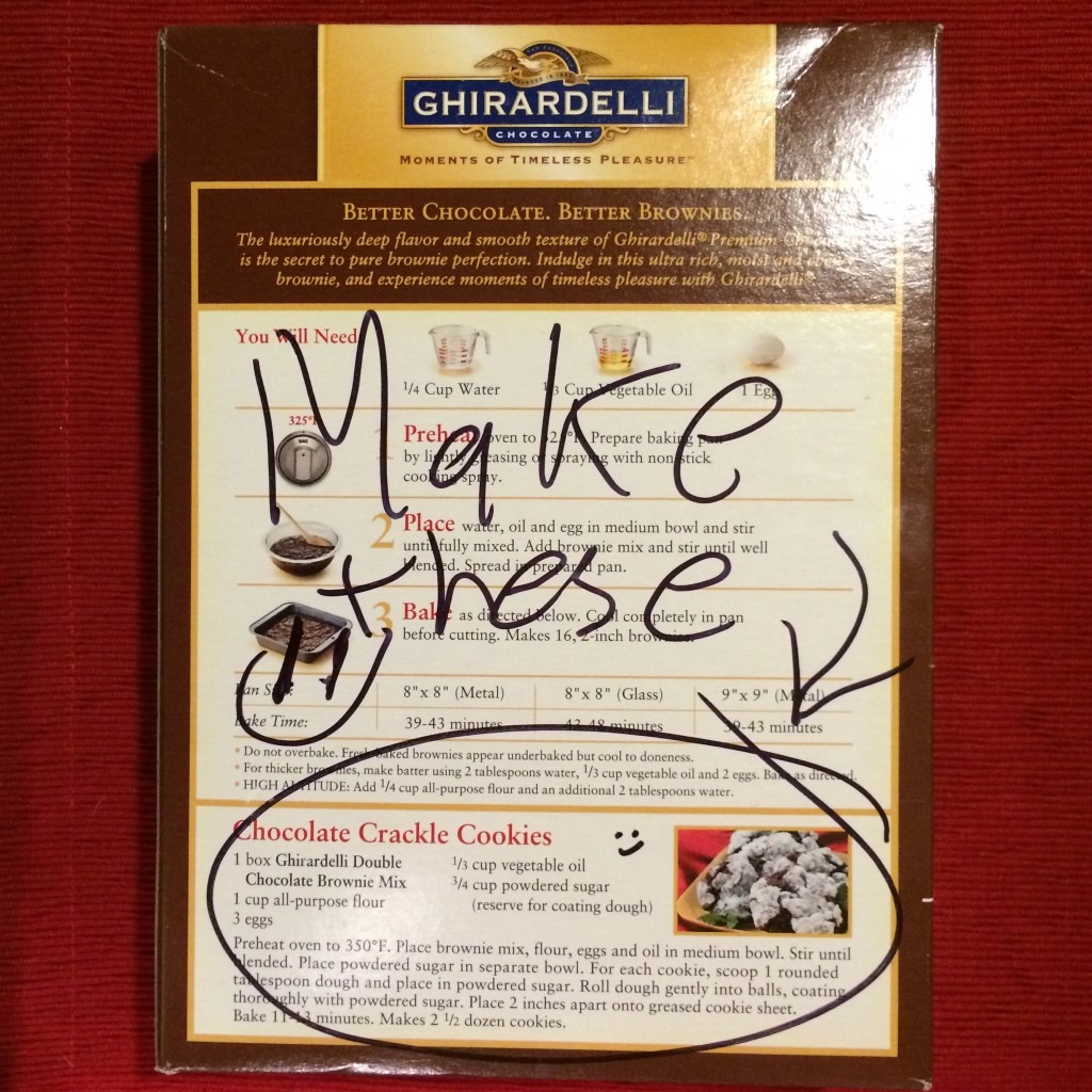 Ghirardelli Double Chocolate Brownie Mix Directions