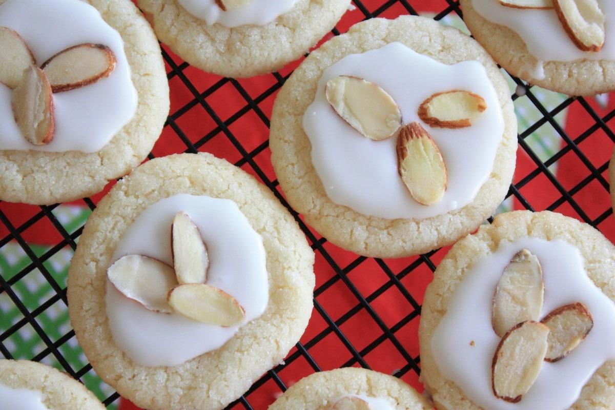 Munchkin Munchies  Almond Glazed Sugar Cookies