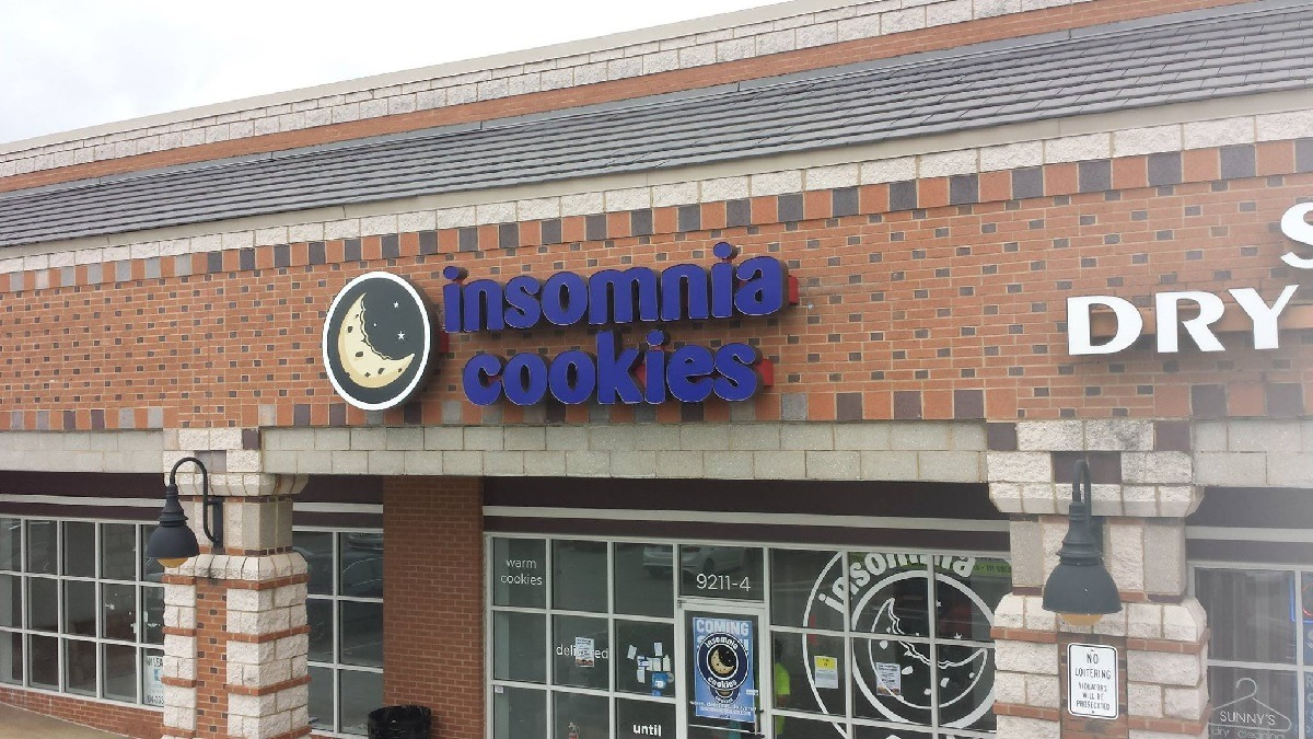 Insomnia Cookies Sign 2