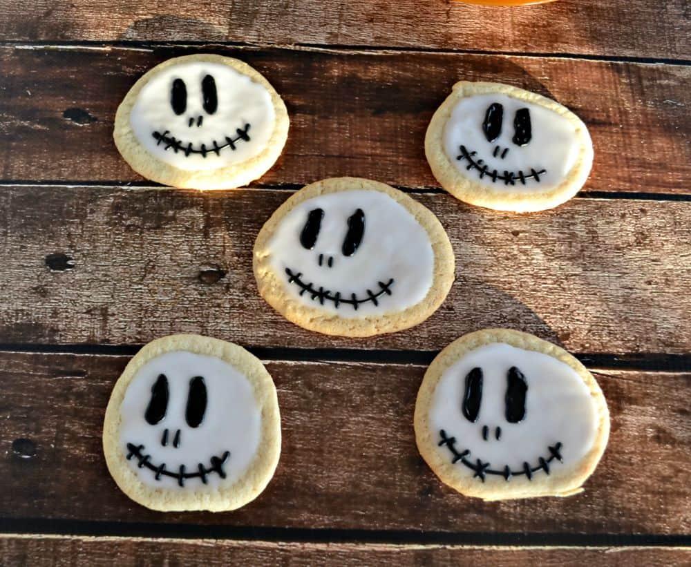Jack Skellington Cookies