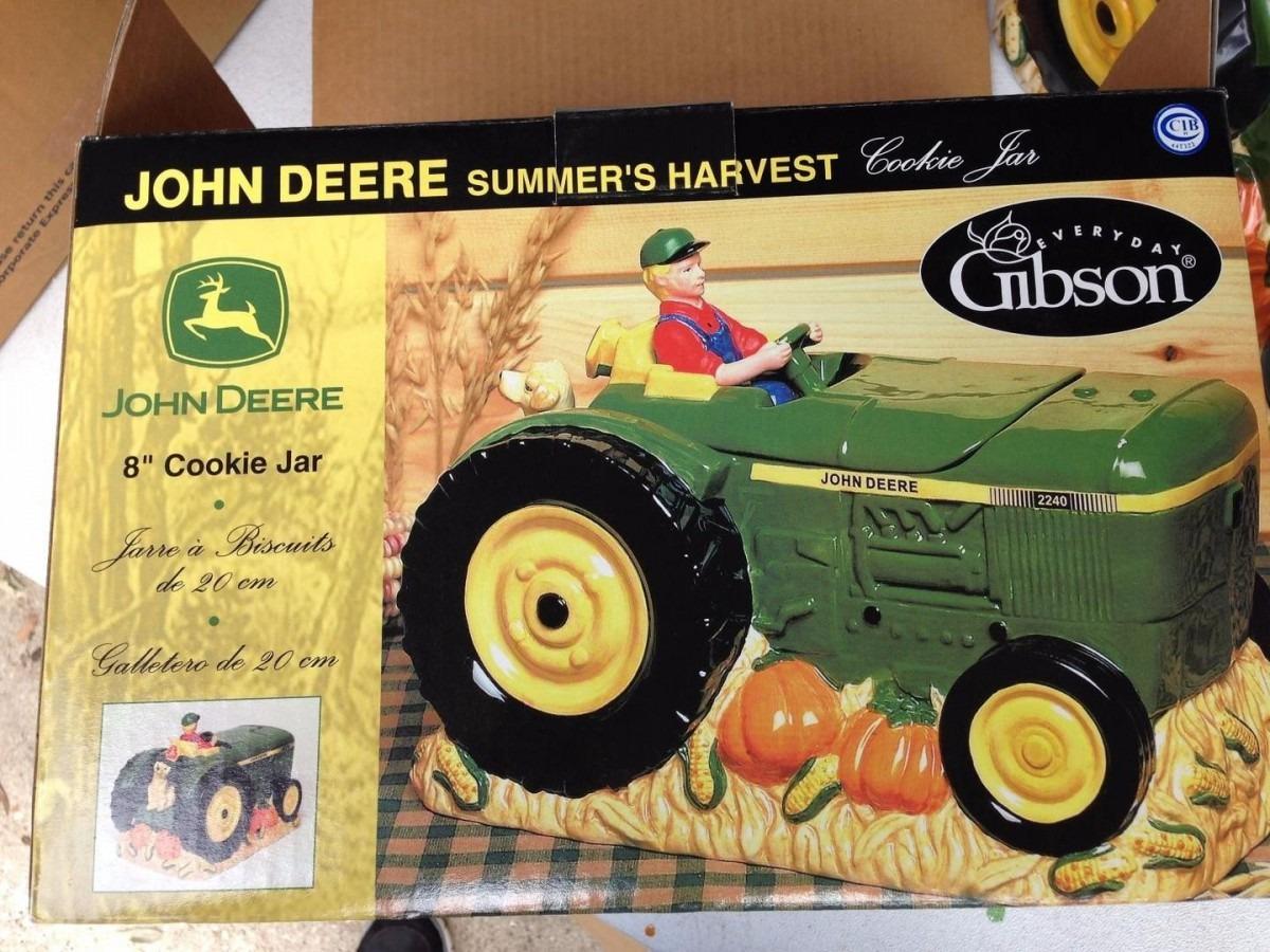 John Deere Cookie Jar Gibson Summer's Harvest Gibson
