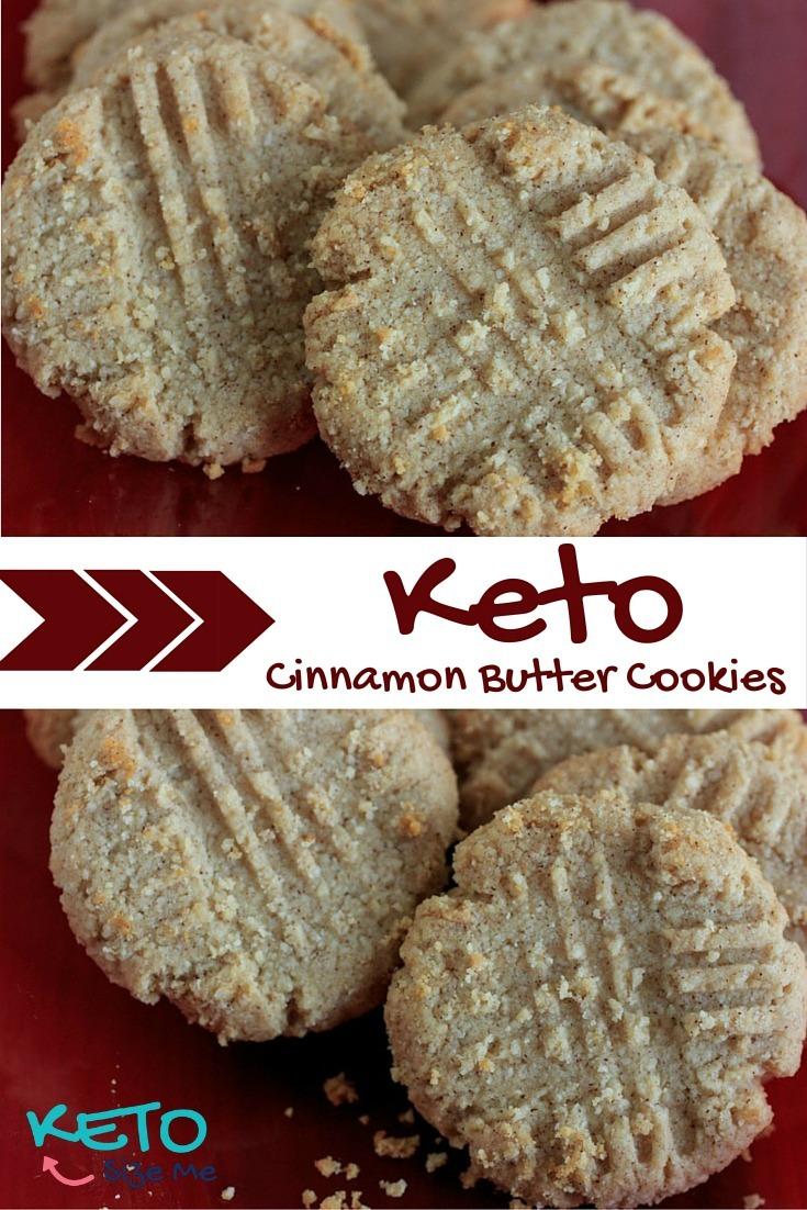 Keto Cinnamon Butter Cookies Recipe • Keto Size Me