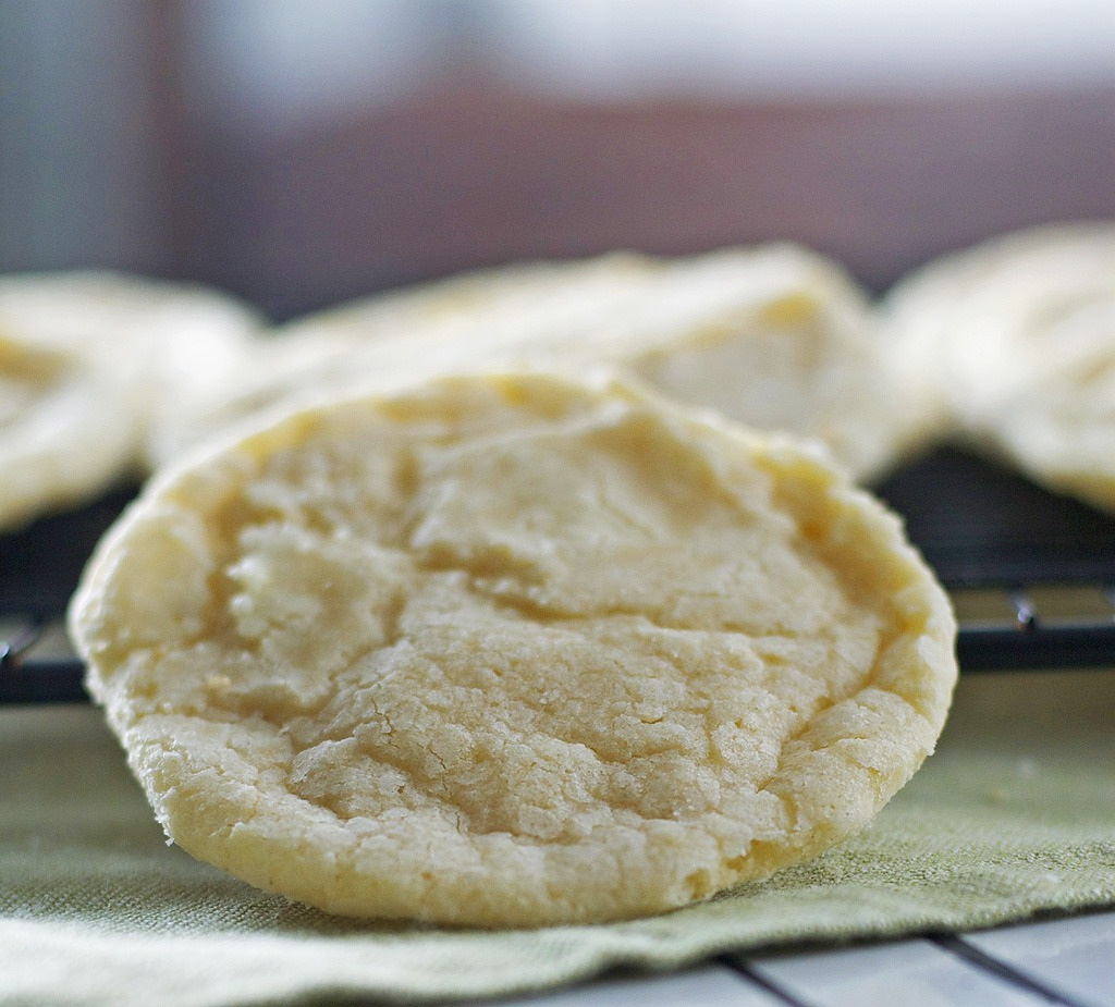 Lemon Cookies Gluten Free